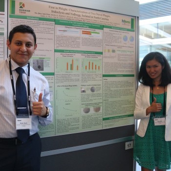 Thumbnail for Durham Tech students present research at national symposium